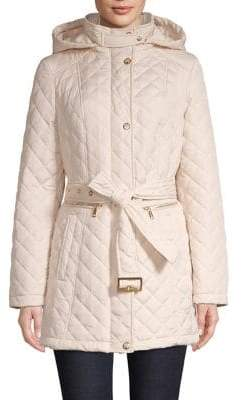 Vince Camuto Quilted Anorak Jacket