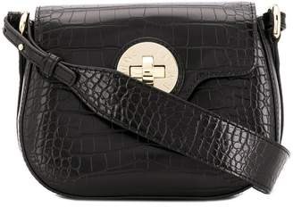 Emporio Armani twist lock cross-body bag