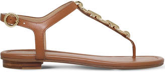 MICHAEL Michael Kors Mahari leather thong sandals