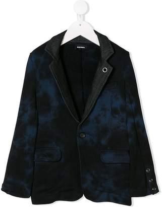 Diesel tie dye blazer