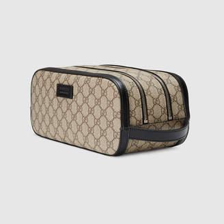 Gucci GG Supreme toiletry case