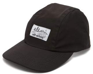 55399fe57ab Off-White Off White Logo Baseball Cap - Mens - Black White