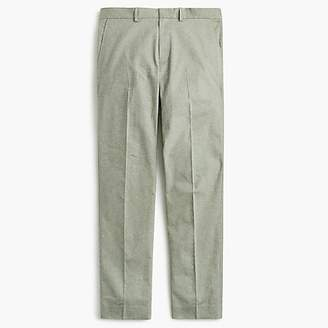 J.Crew Ludlow Slim-fit stretch chambray pant in herringbone