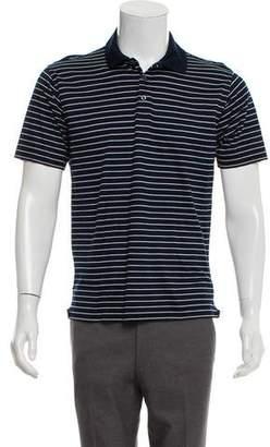 Ralph Lauren Purple Label Striped Short Sleeve Polo Shirt