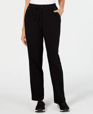 Karen Scott French Terry Pull-On Drawstring Pants, Created for Macy's