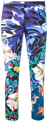 Mary Katrantzou printed cropped trousers
