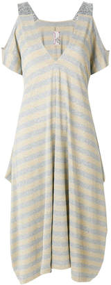 Antonio Marras draped striped dress