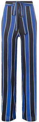 Dorothy Perkins Womens Blue Striped Palazzo Trousers