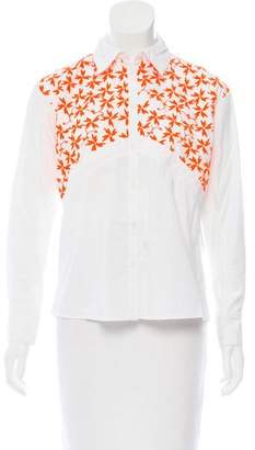 Tanya Taylor Embroidered Ryan Top w/ Tags