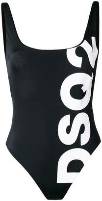 DSQUARED2 logo print swimsuit