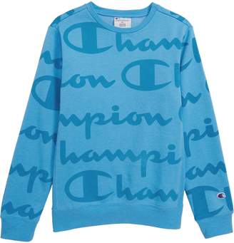 Champion Giant Script Sweatshirt
