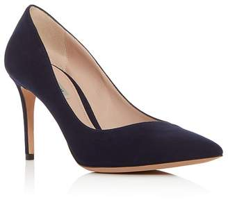 Giorgio Armani Women's Decollete Suede Pointed Toe Pumps