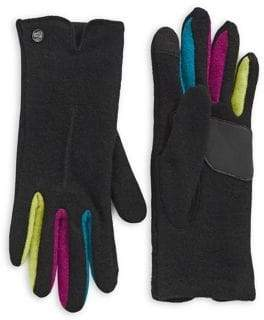 Echo Colourblock Fourchette Gloves