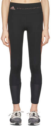adidas by Stella McCartney Black and Pink Training Tights