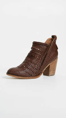 Jeffrey Campbell Burman Woven Ankle Boots