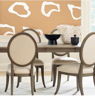 Cynthia Rowley Tempaper for Pool House Gold Self-Adhesive Wallpaper