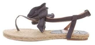 Lanvin Bow Espadrille Sandals