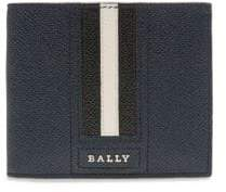 Bally Tonett Embossed Leather Wallet