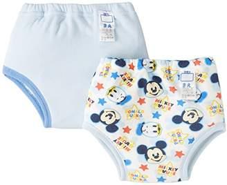 Disney (ディズニー) - DISNEY BABY(ディズニーベビー) ミッキー 4層トレーニングパンツ 2枚組 95cm 331100303