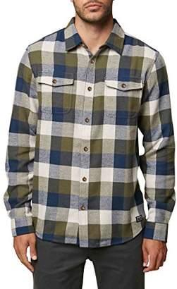 O'Neill Men's Wilong Sleevehire Flannel Shirt