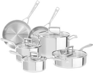 KitchenAid Triple-Ply Stainless Steel Cookware Set (10 PC)
