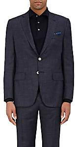 Isaia Men's Gregory Linen Two-Button Sportcoat - Navy