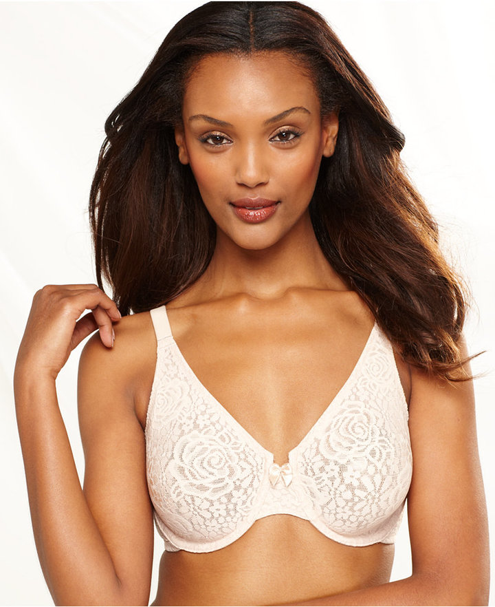Wacoal Halo Lace Molded Underwire Bra 851205