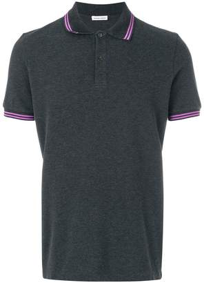 Tomas Maier stripe piquet polo