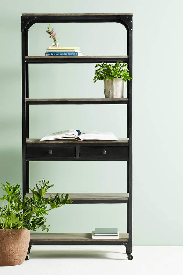 Anthropologie Anthropologie Decker Five-Shelf Bookshelf