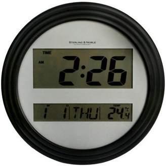 Mainstays Digital Wall Clock, Black
