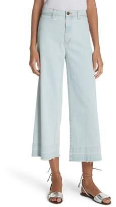 Veronica Beard Ali High Waist Gaucho Jeans