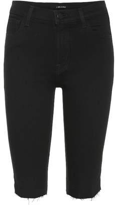 J Brand 811 mid-rise denim shorts