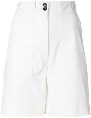 Tomas Maier peach cotton short