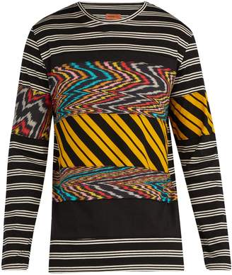 Missoni MARE Striped cotton long-sleeve T-shirt
