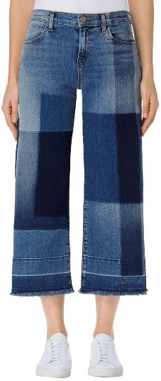 J BrandWomen's J Brand Patchwork Culotte Jeans