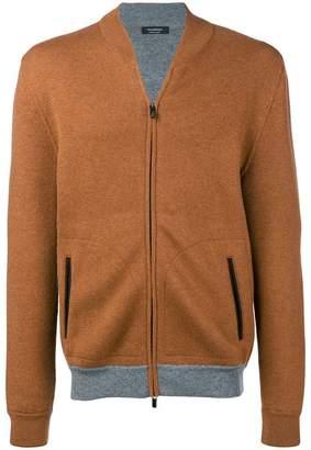 Ermenegildo Zegna knitted bomber jacket