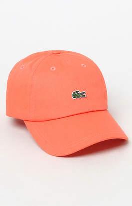 Lacoste Small Croc Strapback Dad Hat