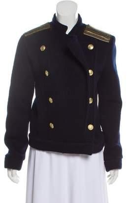 Pierre Balmain Virgin Wool-Blend Jacket w/ Tags