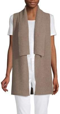 Saks Fifth Avenue Rib-Knit Cashmere Cardigan