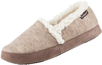 Isotoner Signature Women's Heathered Knit Closed Back Slipper with Memory Foam
