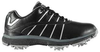 Slazenger Womens V200 Golf Shoes Spiked Lace Up Spikes