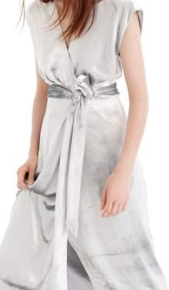 J.Crew Collection Velvet Wrap Dress