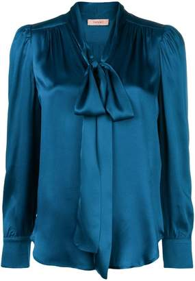 Twin-Set bow collar blouse