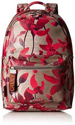 b38e9d46e79aa1 Oilily Jolly Backpack Mvz, Women's Backpack, Rot (Dark Red), (B