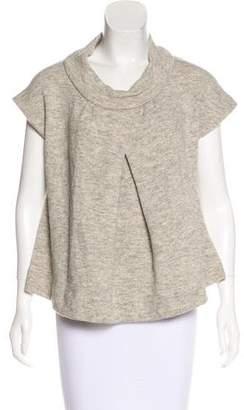Etoile Isabel Marant Wool Blend Cowl Neck Top