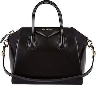 Givenchy Women's Antigona Small Leather Duffel Bag - Black