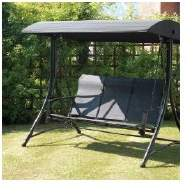 Latitude Run Burnstad Porch Swing with Stand
