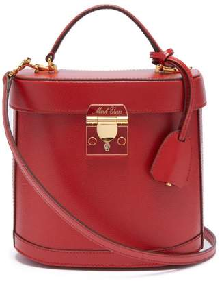 Mark Cross Benchley Grained Leather Shoulder Bag - Womens - Red