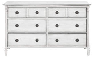 Evolur Julienne 6 Drawer Dresser