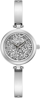 Caravelle Women's Crystal Bangle Watch - 43L211